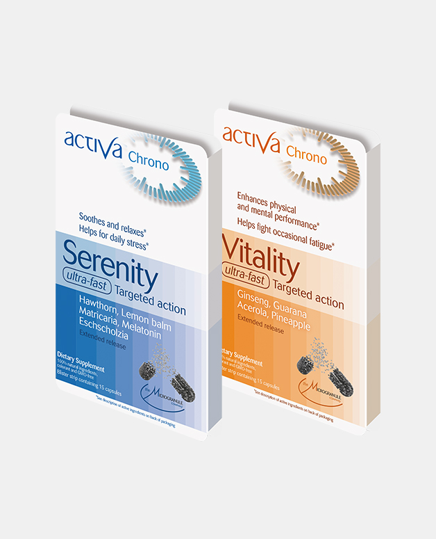 travel-pack-activa-chrono-ultra-fast-supplements-jet-lag-vitality-plants-natural-product-fatigue-serenity-stress-anxiety